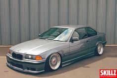 Awesome combination: BMW e36 coupe on cult classic 17'' BBS RS wheels
