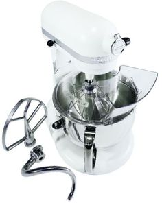 Kitchenaid Pro 600 Colors professional 600 series 6 qt. white stand mixer | stand mixers