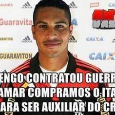 Torcedores do Flamengo tiram onda com o Corinthians na web após a contratação de Guerrero
