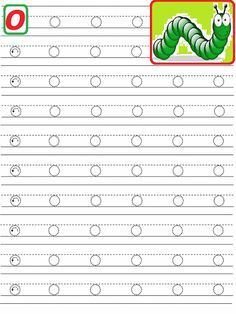 Letter Writing Worksheets, Alphabet Writing Practice, Tracing Letters, Alphabet Worksheets, Learning Letters, Preschool Learning Activities, Free Preschool, Preschool Printables, Preschool Worksheets