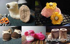 Cómo tejer escarpines crochet