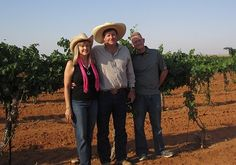 Janice, Neal, and Nolan Newsom - Newsom Vineyards