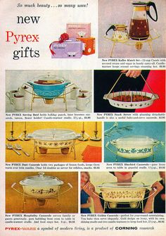 Pyrex ad from Good Housekeeping magazine December 1959