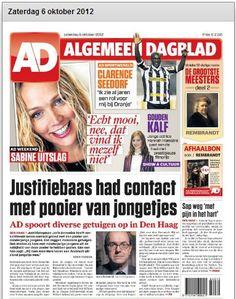 Naast de Gay-krant zijn het Panorma en zoals hier, het AD dat aandacht besteedde aan de affaire Demmink. Het wachten is nu op de zaken die deze media naar buiten brengen, nu Henk Krol het zwijgen heeft doorbroken.
