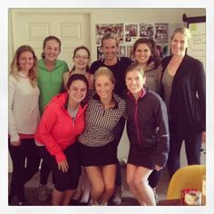 #tsg ladies dressing like our tennis ACE! @andgeorgeantiques. Happy Birthday Christy Ford! xoxo