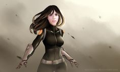 Marvel's Agents of SHIELD- Skye as Daisy Johnson || by oTwinkieo || #fanart