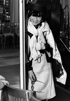 Chanel 1960 | People~ Coco Chanel / Coco Chanel - in the 1960's