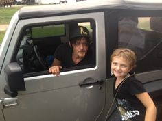 The Story Of Norman Reedus' Biggest Little Fan Will Give You Daryl Dixon Cry…