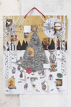 Glowing Morning Advent Calendar - anthropologie.com