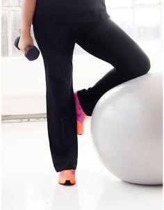 4162adb955c Control Tech performance yoga pant by Lane Bryant