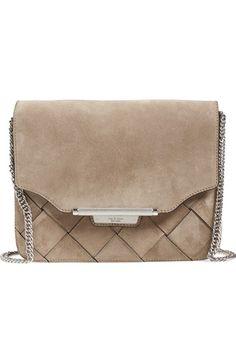 rag & bone Woven Suede Crossbody Bag available at #Nordstrom