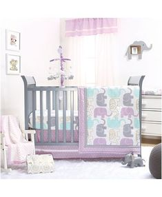 New Mila The Peanut Shell 4 Pc Baby Bedding Crib Set Infant Nursery Girl Flower