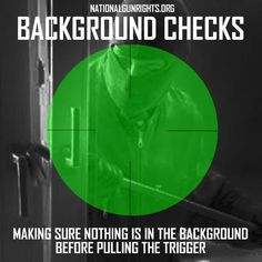 Real background checks