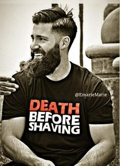 Looking to step up your beard game? From quality beard apparel printed in-house to handcrafted beard oil, we've got you covered. Gear Up and Beard On. I Love Beards, Great Beards, Beard Love, Awesome Beards, Epic Beard, Sexy Beard, Man Beard, Full Beard, Moustaches