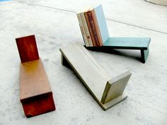 This #book holder would be a perfect and very cool addition to my craft studio! #furniture