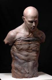 Sculpture by Artist Lynn Christopher Human Sculpture, Sculpture Art, Ceramic Sculptures, Michelangelo, Contemporary Sculpture, Contemporary Art, Javier Marin, Figurative Art, Love Art