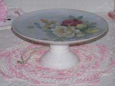 Cake Cupcake Plate Milk Glass Pedestal Dessert Stand  http://lilacsndreams.ecrater.com/p/16142001/cake-cupcake-plate-milk-glass#
