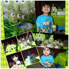 Toy Story Party! #toystory #party #cake #cakepops