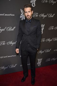 10/20/14 - Ryan Reynolds at the 2014 Angel Ball in NYC.