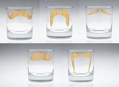 moustache tumblers