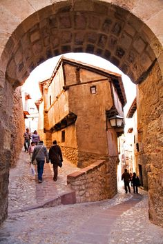 The town of Albarracín, Teruel, Spain.