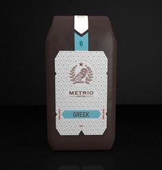 Metrio Coffee Packagin by Robinsson Cravents