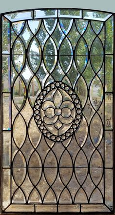 fid16038-7 Stained Glass Birds, Stained Glass Crafts, Stained Glass Designs, Stained Glass Panels, Etched Glass Door, Beveled Glass, Mosaic Glass, Glass Block Windows, Leaded Glass Windows