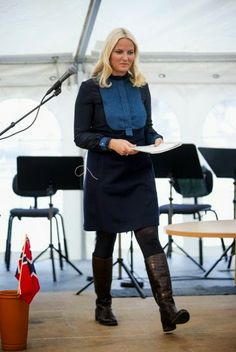 Crown Princess Mette-Marit on 'Literary Journey'