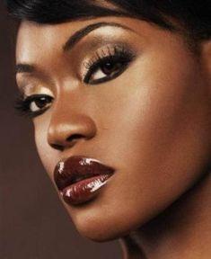 Makeup for Dark Skin Black Women   Natural Makeup For Dark Skin ...