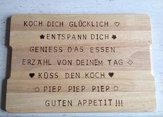 Persönliche Botschaft auf Brettchen von Inken - https://community.tchibo.de/?view=social&type=reply&id=7107