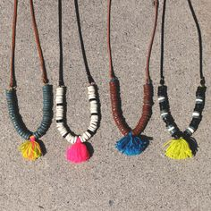Terra and Tassel Necklace