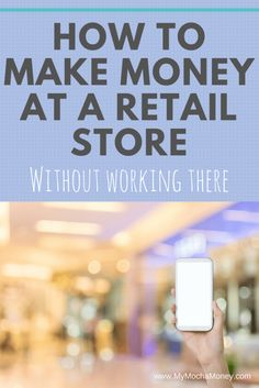 how to make money at a retail store without working there. Learn how to earn extra cash while shopping. Let's talk retail arbitrage! Ways To Earn Money, Earn Money From Home, Earn Money Online, Online Jobs, Way To Make Money, Money Saving Tips, How To Make, Earn Extra Cash, Extra Money
