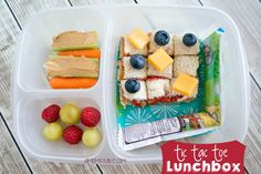 Tic Tac Toe and games themed lunchbox + 4 more creative and awesome summer bento lunch box ideas!