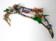 """fashionsfromhistory: """"Hair Ornament 1700-1899 Qing Dynasty, China David Owsley Museum of Art """""""