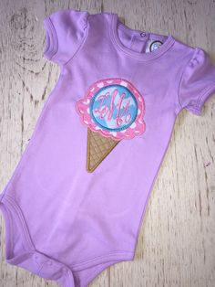 A personal favorite from my Etsy shop https://www.etsy.com/listing/385316280/girls-monogrammed-tee-girls-monogram