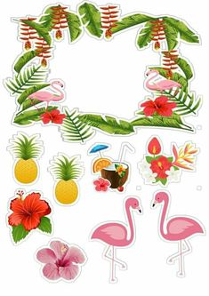 Flamenco Party, Flamingo Craft, Flamingo Birthday, Water Party, Class Decoration, Tropical Party, Luau Party, Happy Birthday Me, Happy Planner