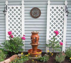 Terra Cotta Pot Fountain