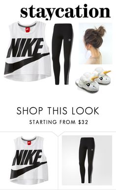 """""""R/R"""" by jodi2004 ❤ liked on Polyvore featuring NIKE and adidas"""