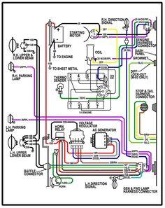 Automotive Alternator Wiring Diagram Vdo Water Temp Gauge Boat Electronics Pinterest 64 Chevy C10 Truck