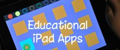educational ipad apps for kids
