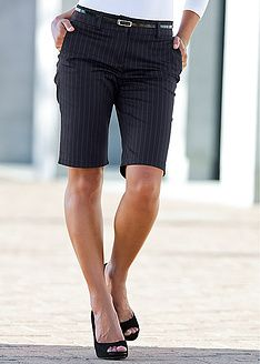 """Ive been desperately looking for a cute """"Bermuda Short Office Look""""..."""