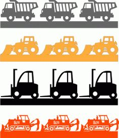 I think I'm in love with this shape from the Silhouette Design Store! Tractor Silhouette, Silhouette Vinyl, Silhouette Machine, Silhouette Design, Silhouette Studio, Silhouette Files, Scrapbook Borders, Scrapbook Titles, Kids Scrapbook