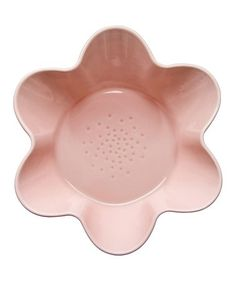 Another great find on #zulily! Pink Flower-Shaped Stoneware Serving Bowl #zulilyfinds