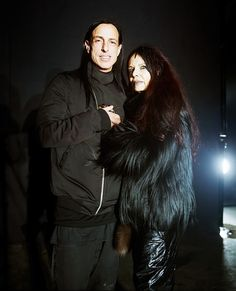 Rick Owens and Michele Lamy