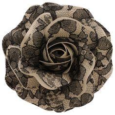 Women's+Black+Lace+Rose+_+Champagne+[Black+Lace+Rose+_+Champagne]+-+$19.95+:+Sara+Monica,+Sara+Monica+Flowers