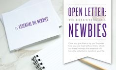 Dear Future Member: We're so excited that you've decided to join us! We know that this will be one of the best decisions you've ever made. Why? Because Young Living essential oils have the power to elevate, motivate, and inspire. In this letter, we've put together a list of five ways they can transform your life. You'll smell amazing ...