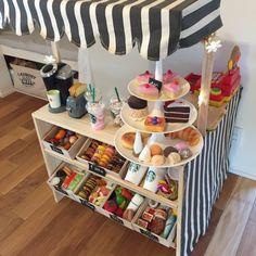 Lounge/カラーボックス/ままごとキッチン/DIY/娘への誕生日プレゼントのインテリア実例 - 2014-11-20 07:28:45|RoomClip (ルームクリップ)