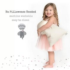 Toddler Pillow & Pillowcase Made in USA - Certified Organic Cotton - Machine Washable - Chiropractor Recommended - Soft Safe Hypoallergenic - Best for Toddlers, Kids, Infant - Perfect for Travel Step Parenting, Parenting Advice, Toddler Pillow, Step Kids, Baby Products, Projects For Kids, Organic Cotton, Baby Kids, Ss