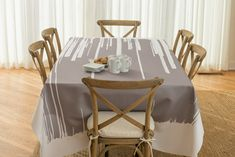 BottleCloth   Fluid Brushstroke Tablecloths and Table Coverings