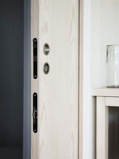 Smart Dörr. Skjutdörrar Som Tar Minimalt Med Plats är Det Bästa När Ytan är  Begränsad
